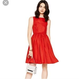 Kate Spade Red Tanner Dress. Size 2. NWT.
